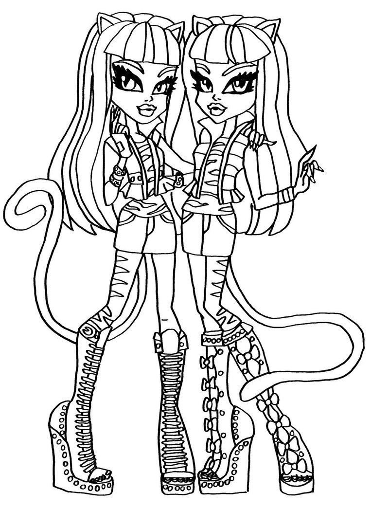 monster high black and white coloring pages dibujos y plantillas para imprimir dibujos de monster pages and high monster black coloring white