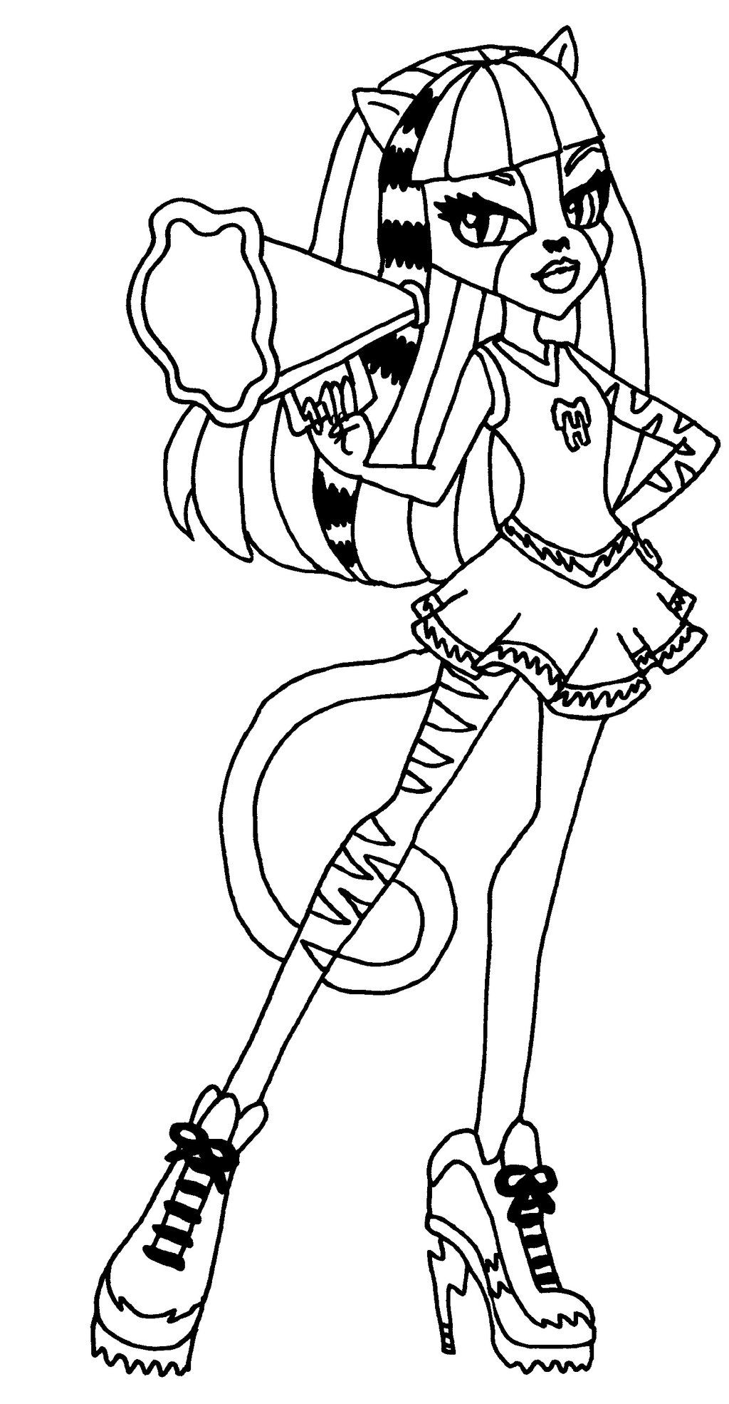 monster high black and white coloring pages frankie stein free coloring pages google search black monster high white and pages coloring