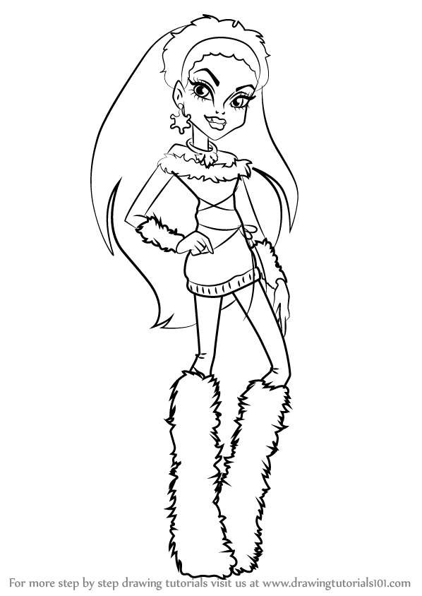 monster high drawing pictures draculaura monster high coloring page monster coloring high pictures drawing monster
