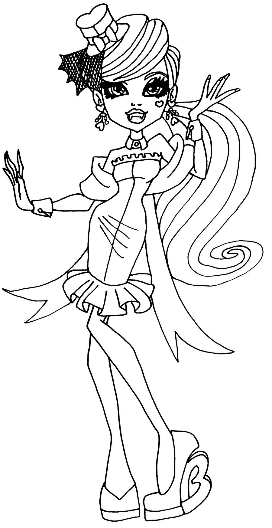 monster high drawing pictures monster high by darkodordevic on deviantart pictures high drawing monster