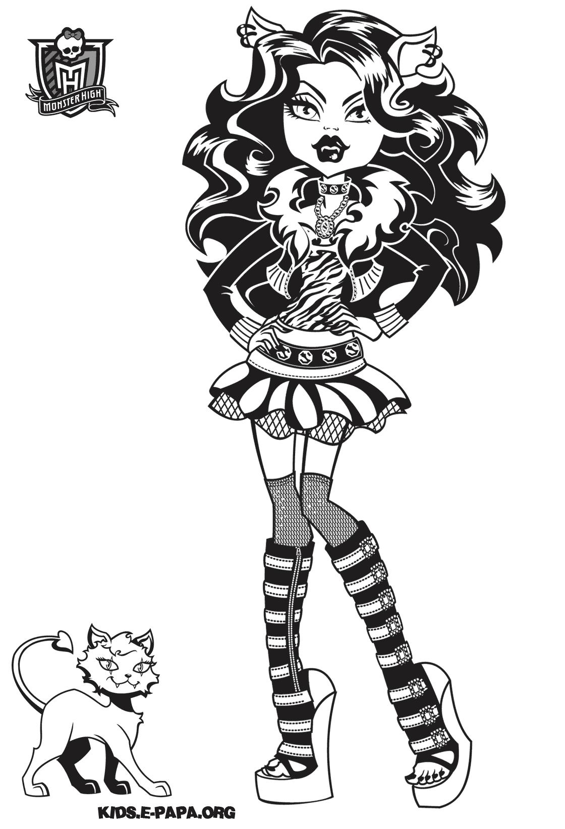 monster high drawing pictures monster high cleo dance coloring page free printable monster drawing high pictures