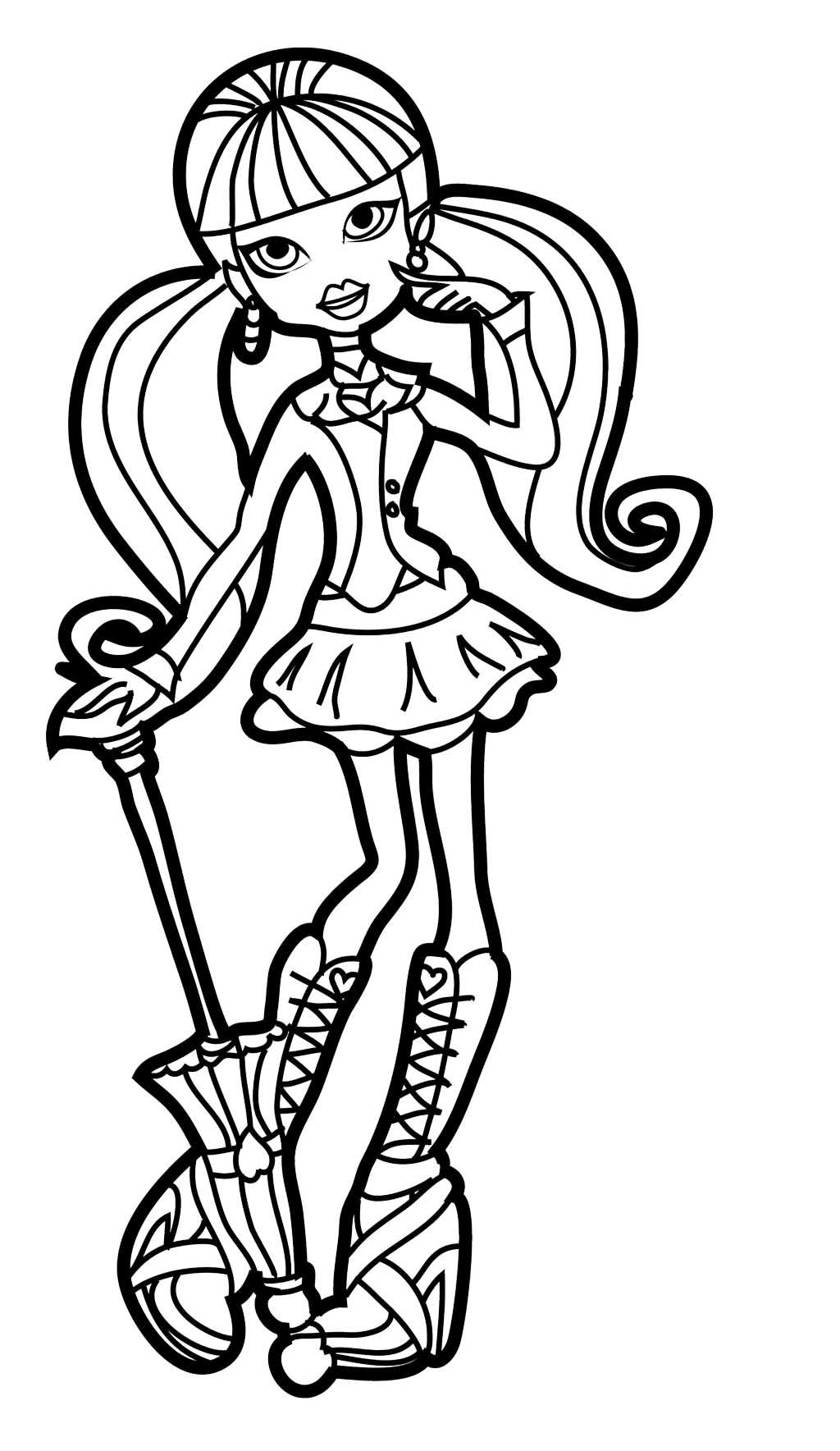 monster high drawing pictures the best free printing drawing images download from 609 high monster pictures drawing