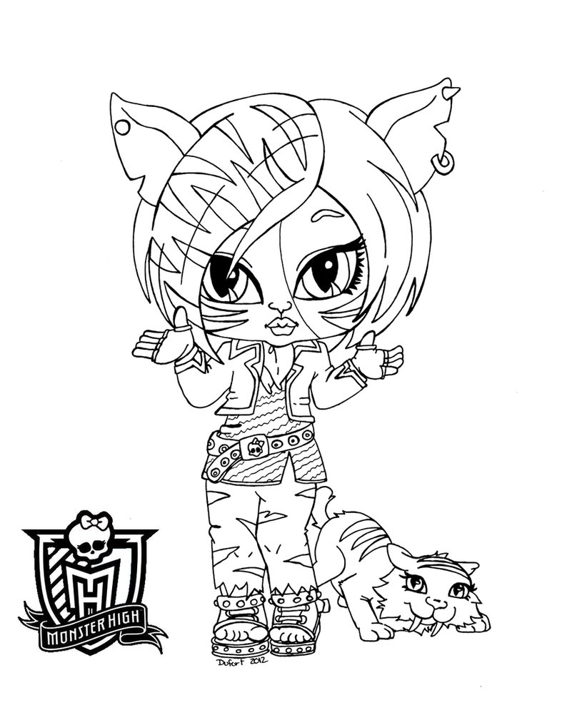monster high pets monster high pets coloring pages and rockseena pet pets high monster