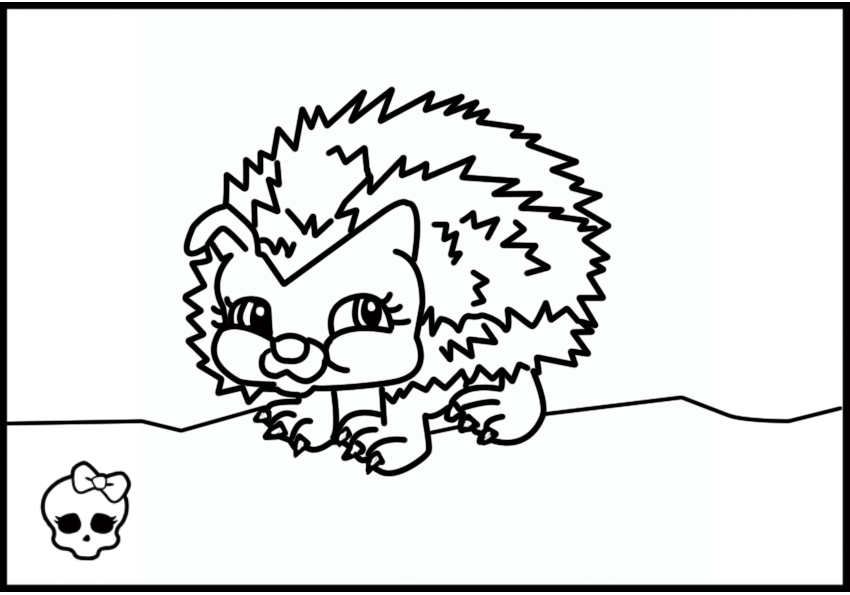 monster high pets pets from monster high coloring pages free coloring pages high monster pets