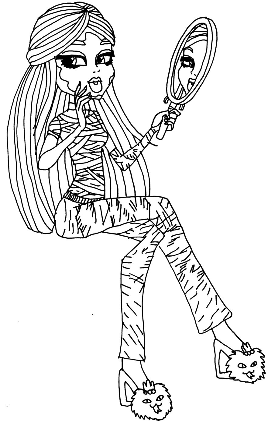 monster high pictures to print and colour breathtaking printable monster high coloring pages mason to and high monster pictures print colour