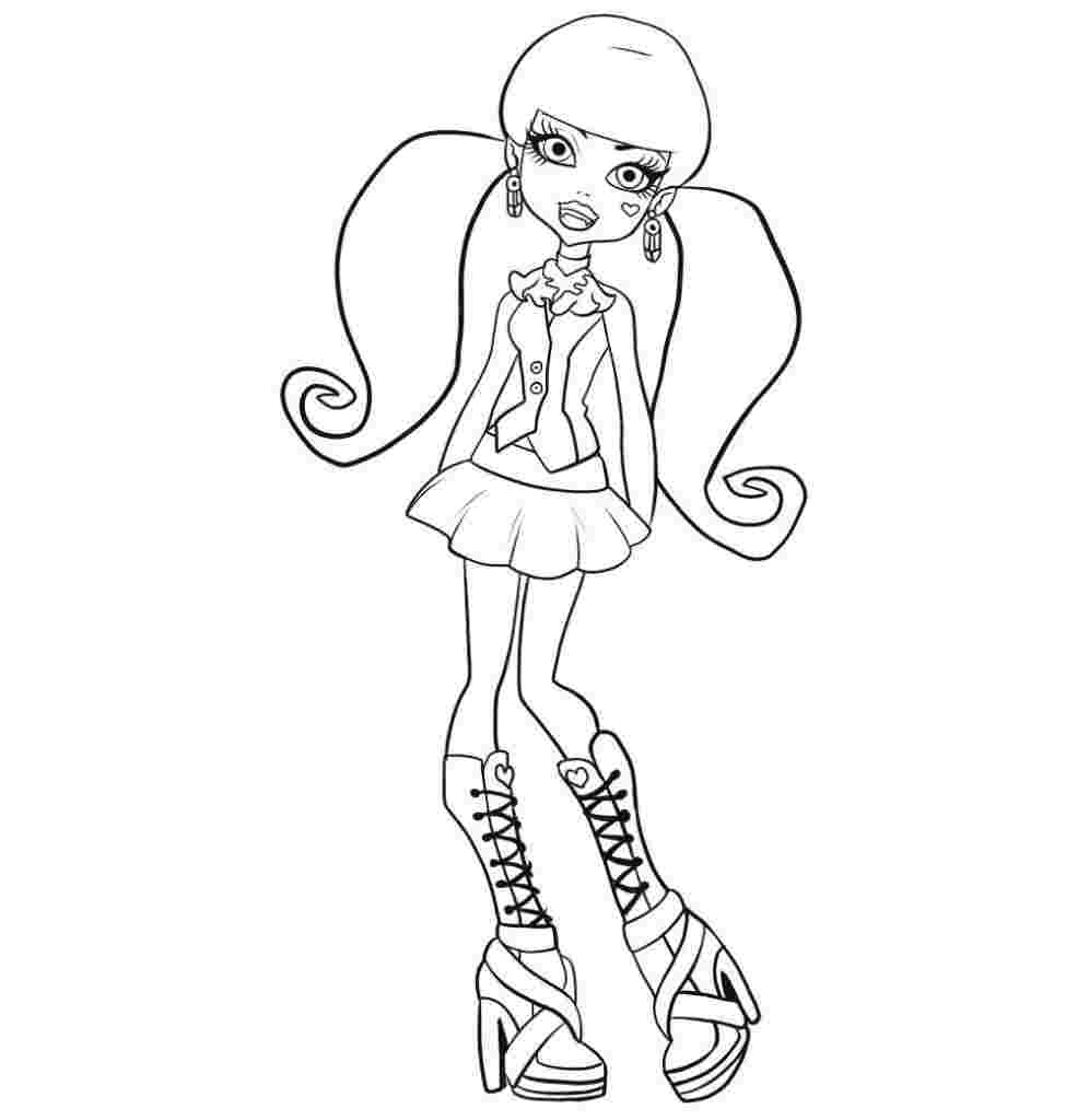 monster high pictures to print free printable monster high coloring pages for kids pictures high monster print to