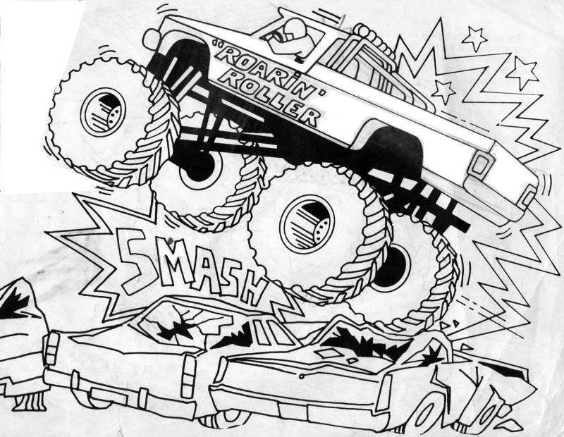 monster truck coloring book monster truck bigfoot big foot kids coloring pages monster truck coloring book