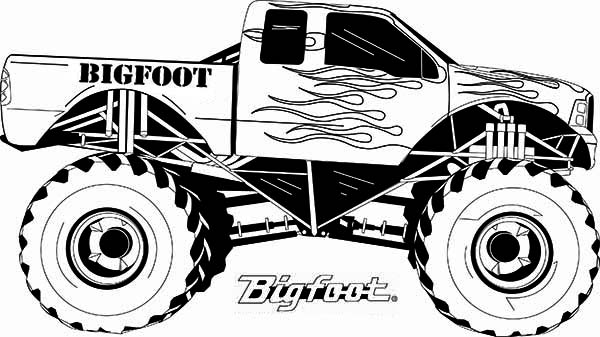 monster truck coloring pages easy free easy to print monster truck coloring pages coloring monster truck easy pages