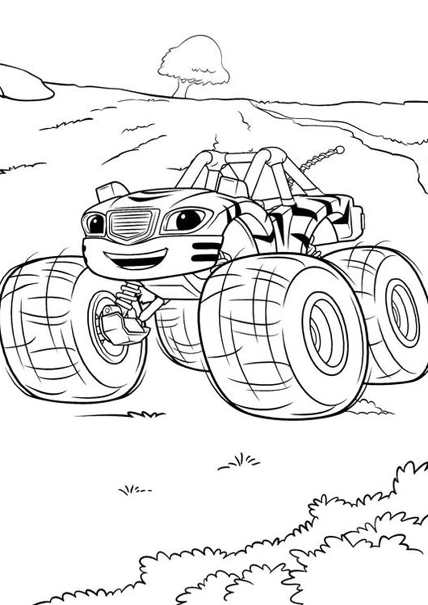 monster truck coloring pages easy large monster truck coloring page for kids transportation easy monster coloring truck pages