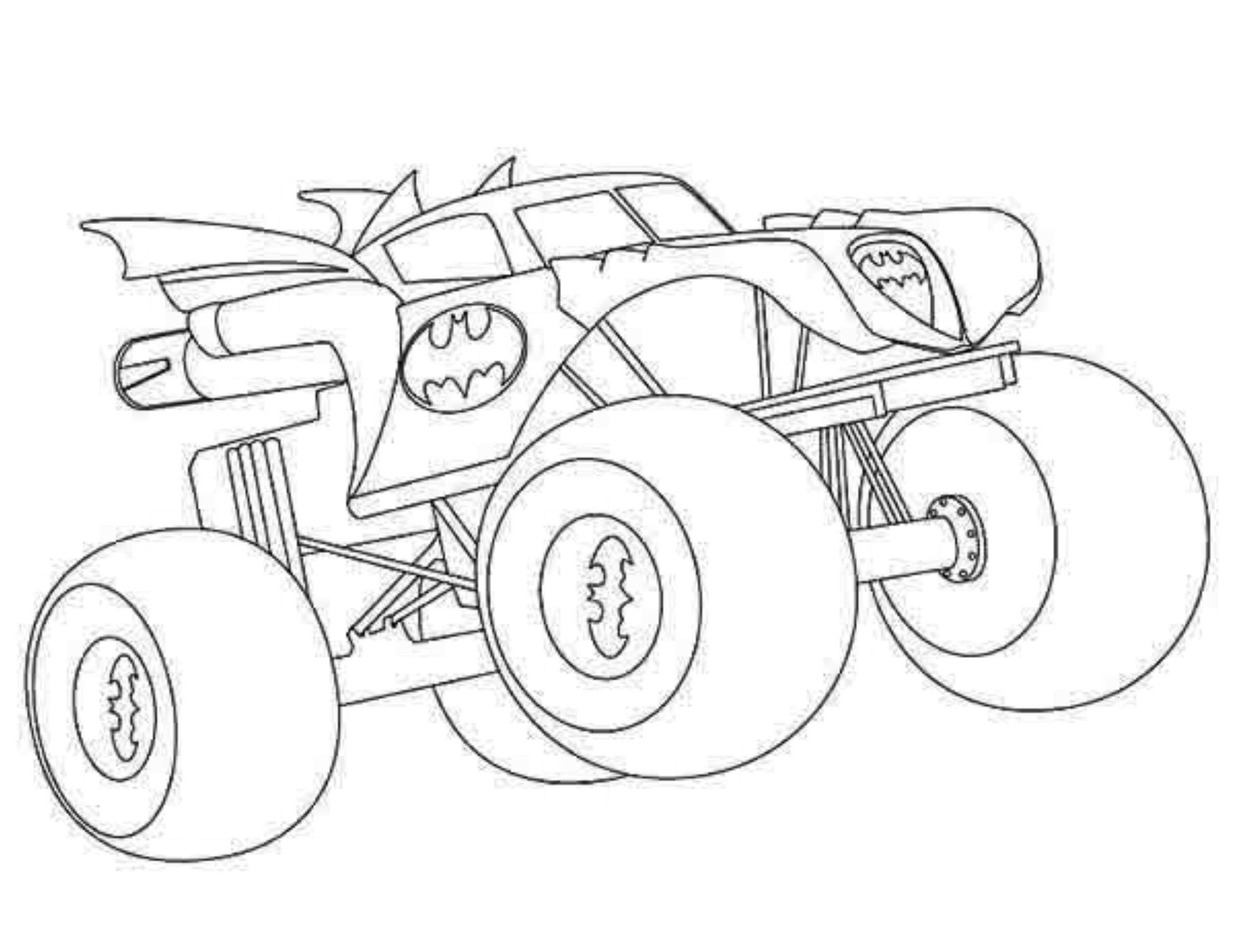 monster truck coloring pages easy simple monster truck coloring page monster pages truck coloring easy