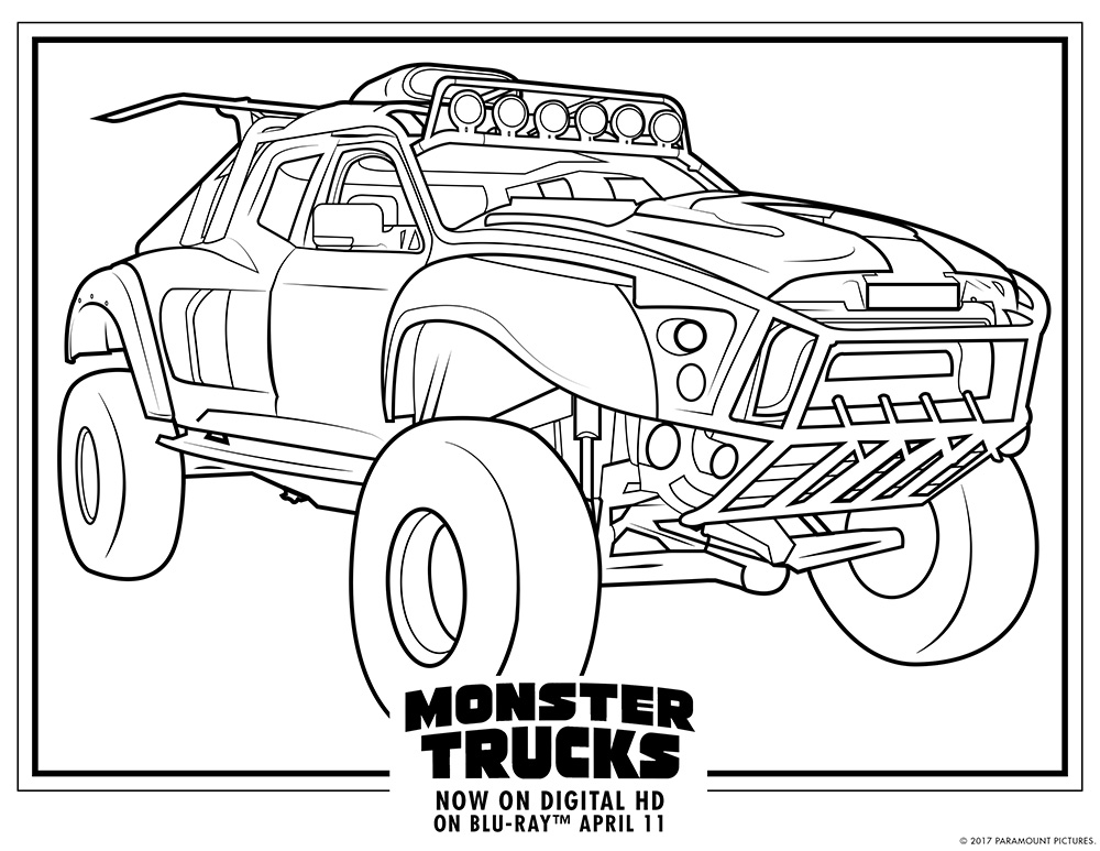 monster truck coloring sheets free printable monster jam coloring pages coloring home sheets monster coloring truck