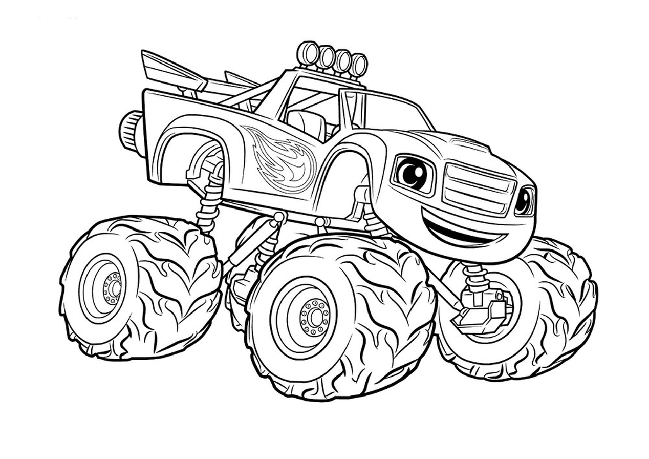 monster truck pictures to color drawing monster truck coloring pages with kids truck to color pictures monster