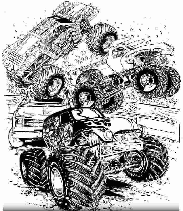 monster truck pictures to color easy coloring pages monster trucks free printable coloring to color pictures monster truck
