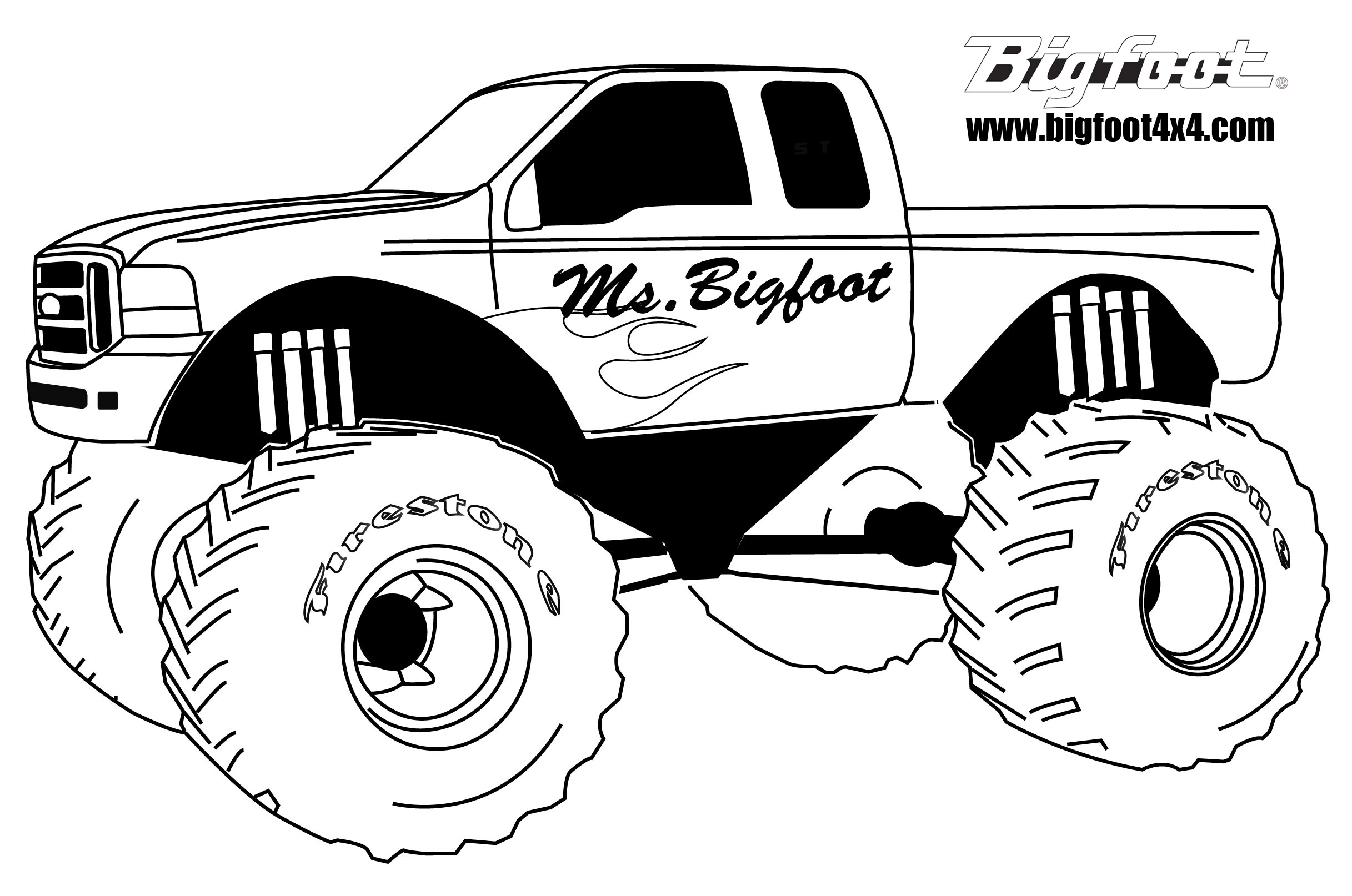 monster truck pictures to color monster truck max d coloring page for kids transportation color pictures truck monster to