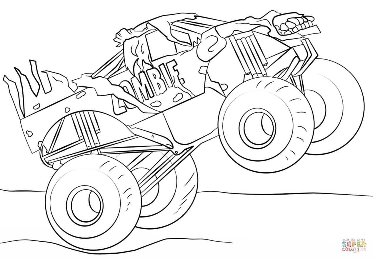 monster truck pictures to color monster truck pictures to color to monster pictures truck color