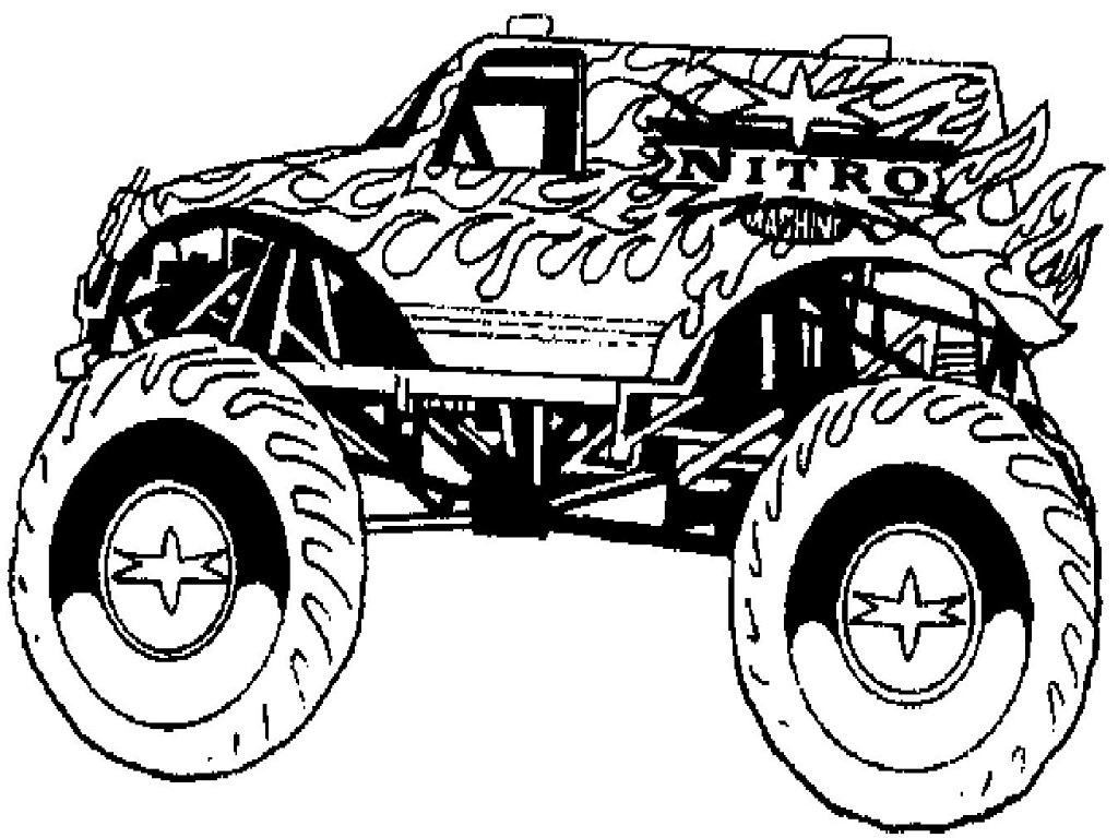 monster trucks coloring pages monster trucks printable coloring pages all for the boys monster coloring pages trucks
