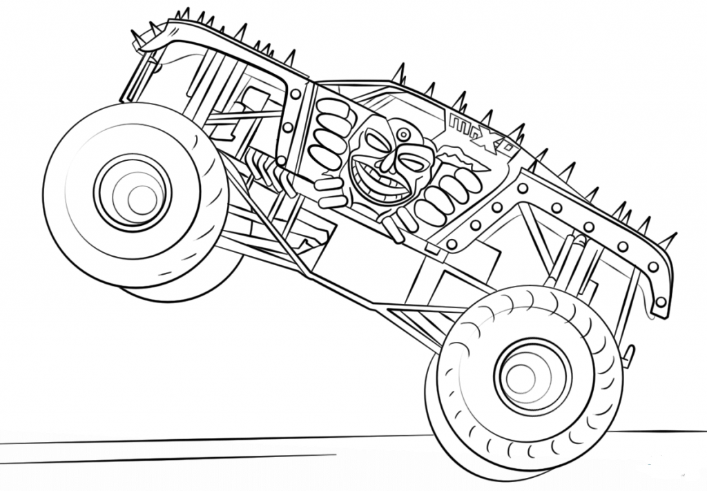 monster trucks coloring pages monster trucks printable coloring pages all for the boys pages coloring trucks monster
