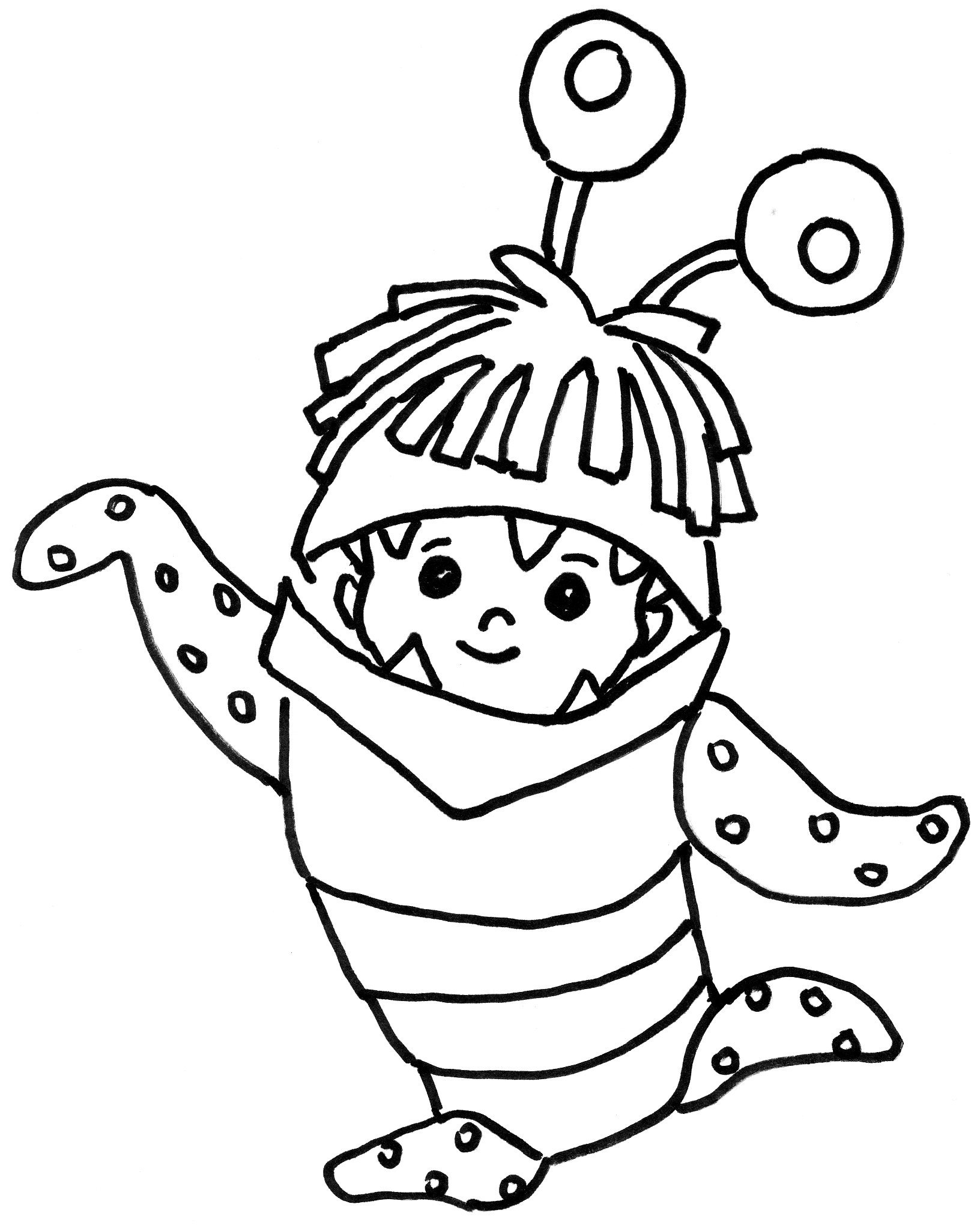 monsters inc coloring pictures fun coloring pages monsters university coloring pages monsters pictures inc coloring