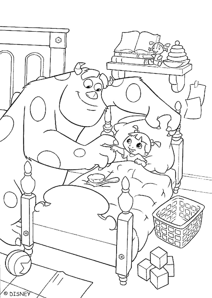 monsters inc coloring pictures monster inc coloring pages to download and print for free coloring monsters pictures inc
