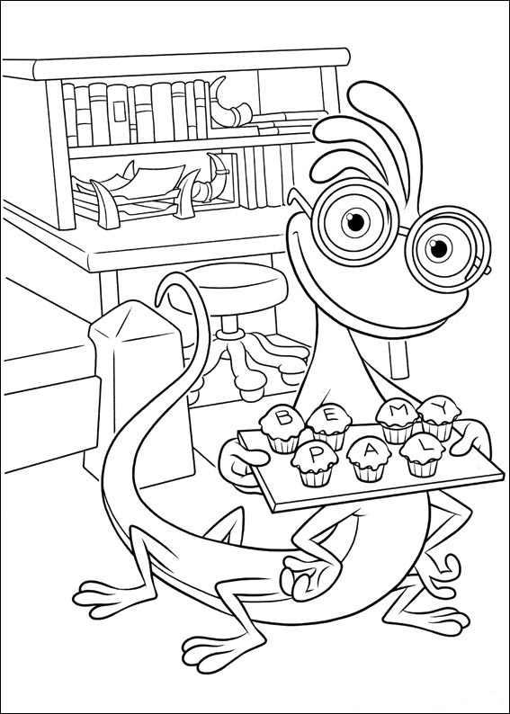 monsters inc coloring pictures monsters inc coloring pictures monsters pictures inc coloring