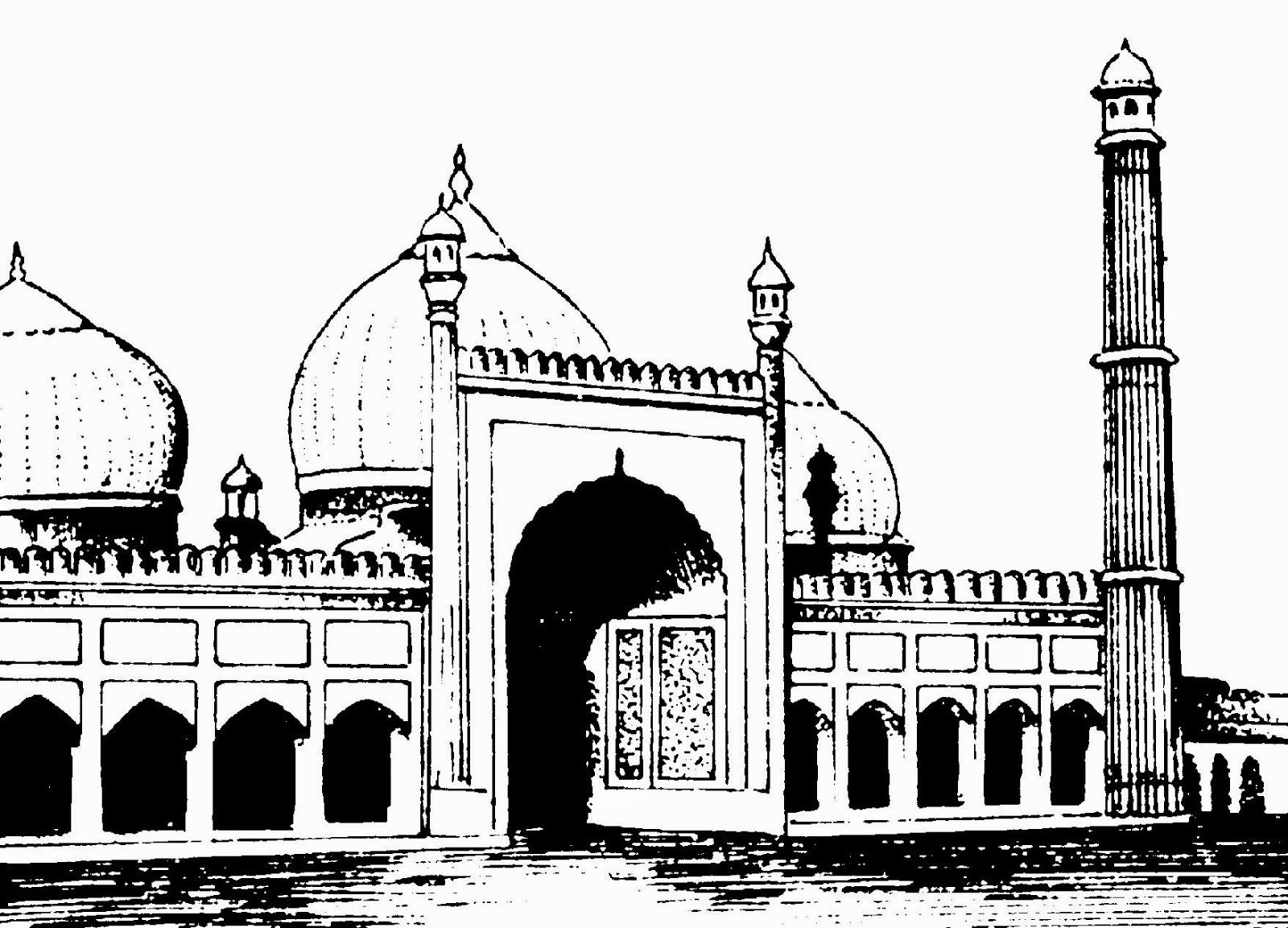monuments of india drawing clip arts and images of india monuments of india line drawing of monuments india