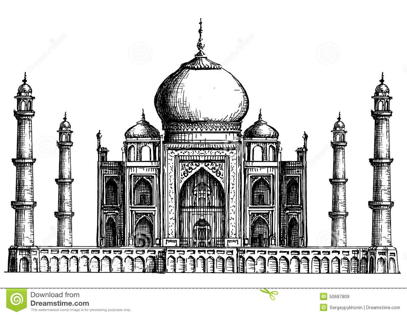 monuments of india drawing clip arts and images of india monuments of india line india drawing monuments of