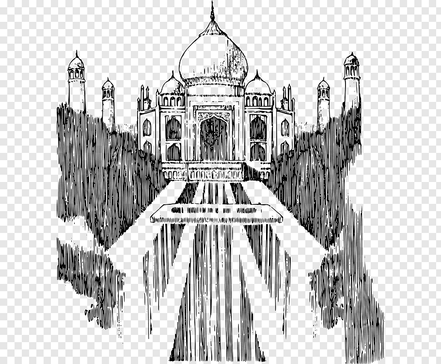 monuments of india drawing clip arts and images of india monuments of india line india monuments drawing of