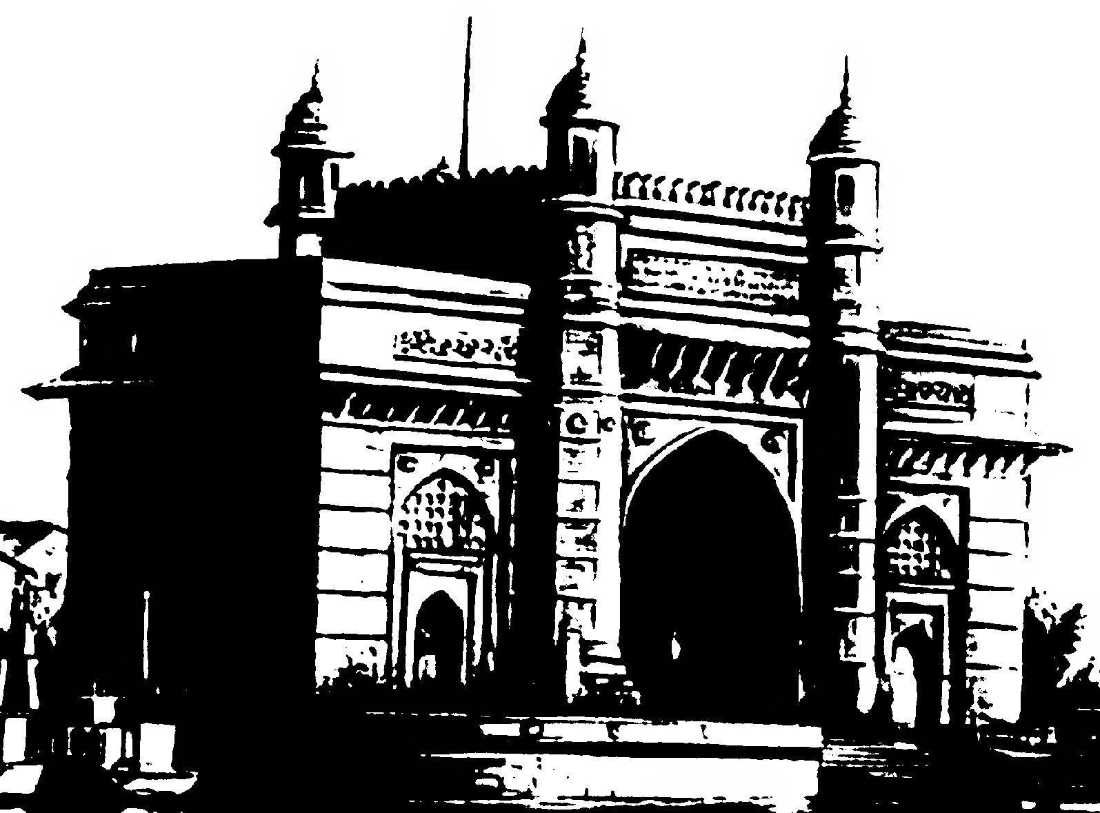 monuments of india drawing clip arts and images of india monuments of india line monuments drawing india of