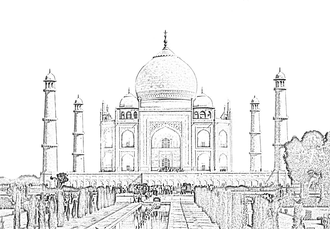 monuments of india drawing clip arts and images of india monuments of india line monuments drawing india of 1 1