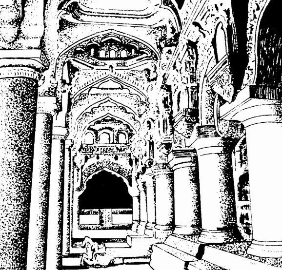 monuments of india drawing clip arts and images of india monuments of india line of drawing monuments india