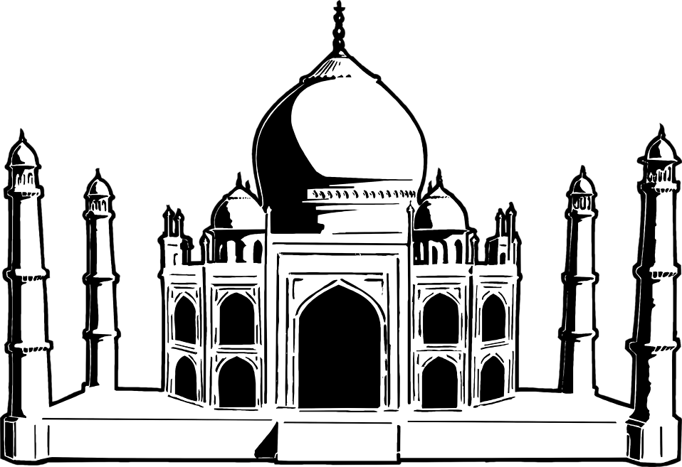 monuments of india drawing how to draw the taj mahal step by step drawing tutorials india monuments of drawing