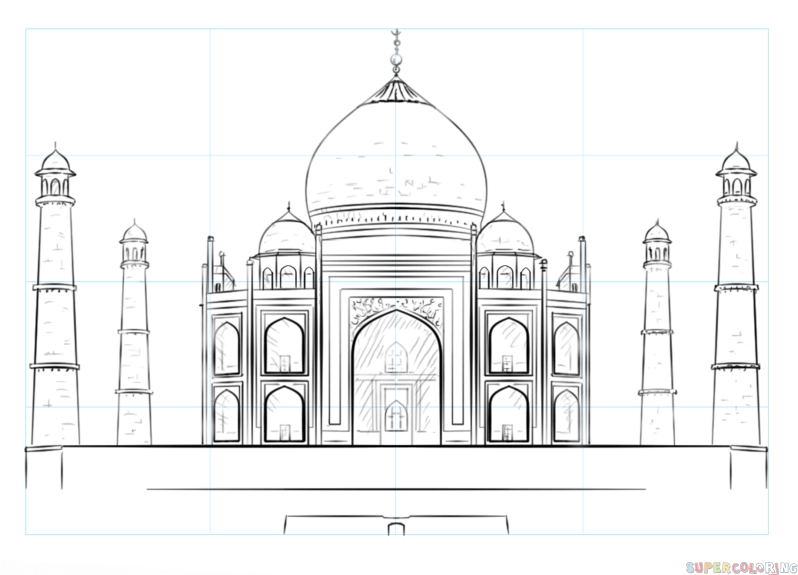 monuments of india drawing lotus temple clipart 20 free cliparts download images on india drawing monuments of