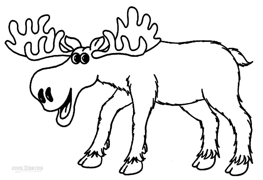 moose coloring page moose coloring pages drawing pictures free printable coloring moose page