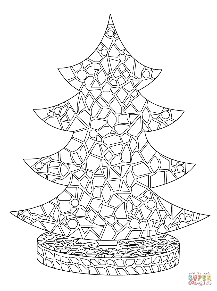 mosaic colouring pages awesome geometric mosaic coloring page download print mosaic colouring pages