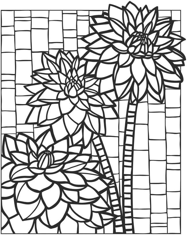 mosaic colouring pages mosaic coloring pages of animals coloring home colouring mosaic pages