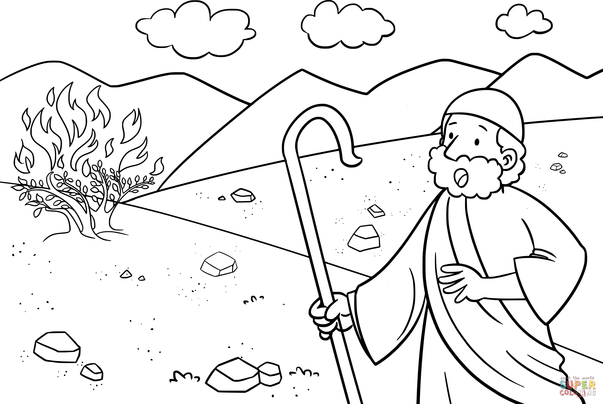 moses coloring pages free printable moses coloring pages for kids coloring pages moses