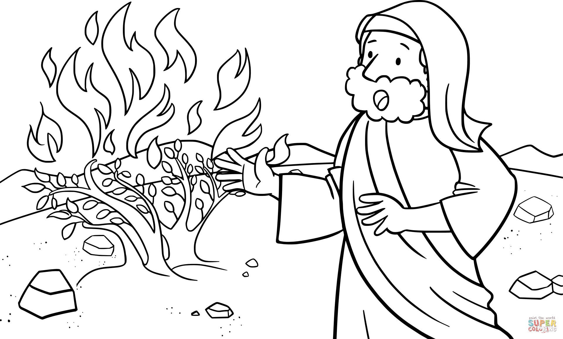 moses coloring pages printable moses coloring pages for kids cool2bkids moses coloring pages
