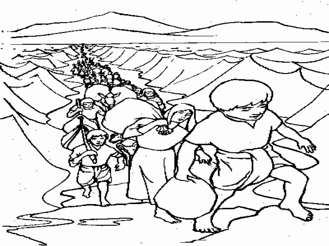moses red sea coloring page free moses parting the red sea coloring pages connectus page sea moses coloring red