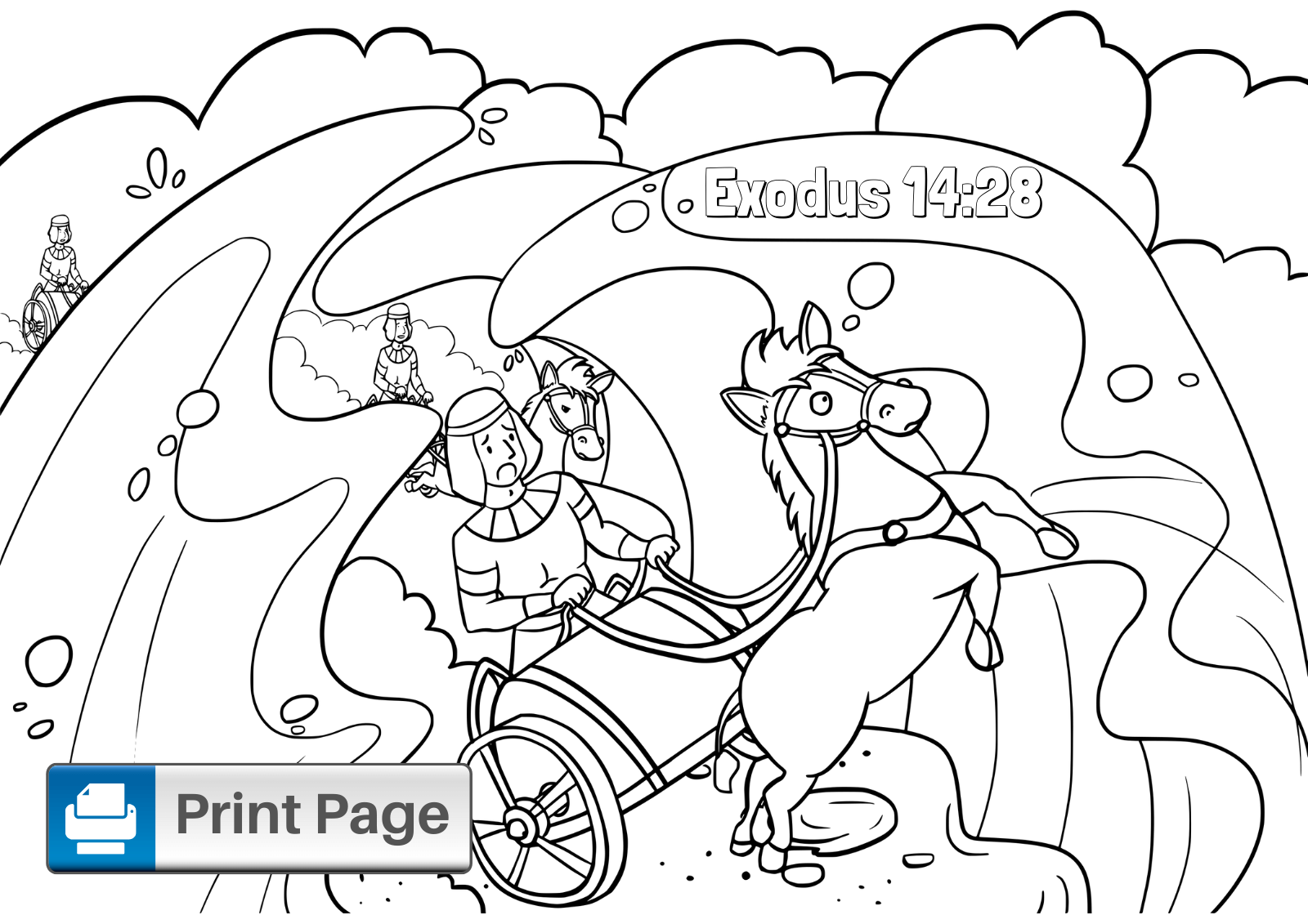 moses red sea coloring page moses parting sea coloring pages coloring home sea coloring moses page red