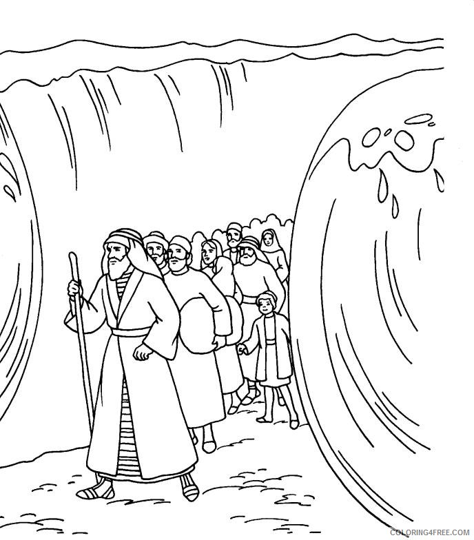moses red sea coloring page moses parting the red sea coloring page lovely moses red sea coloring moses page
