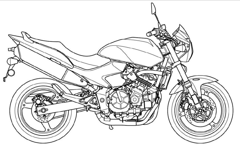 motorbike colouring free printable motorcycle coloring pages for kids colouring motorbike 1 2