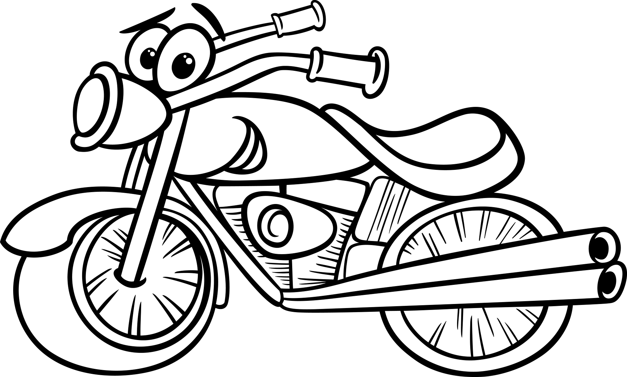 motorbike colouring free printable motorcycle coloring pages for kids cool2bkids colouring motorbike