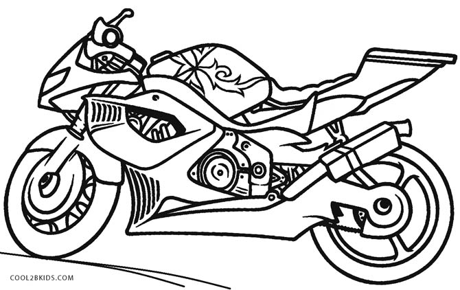 motorbike colouring free printable motorcycle coloring pages for kids cool2bkids colouring motorbike 1 2