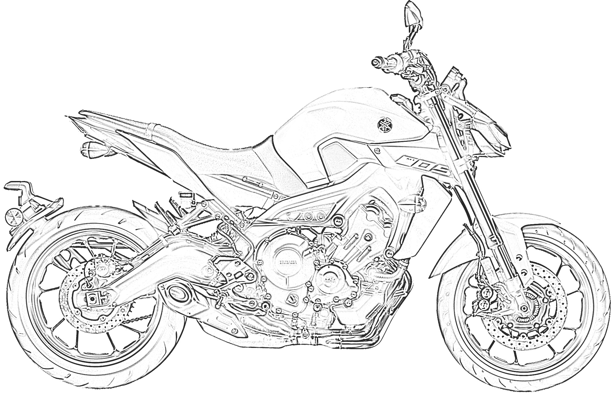 motorbike colouring motor bike coloring pages coloring home motorbike colouring
