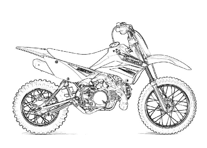 motorbike colouring motorcycle coloring pages coloring pages colouring motorbike