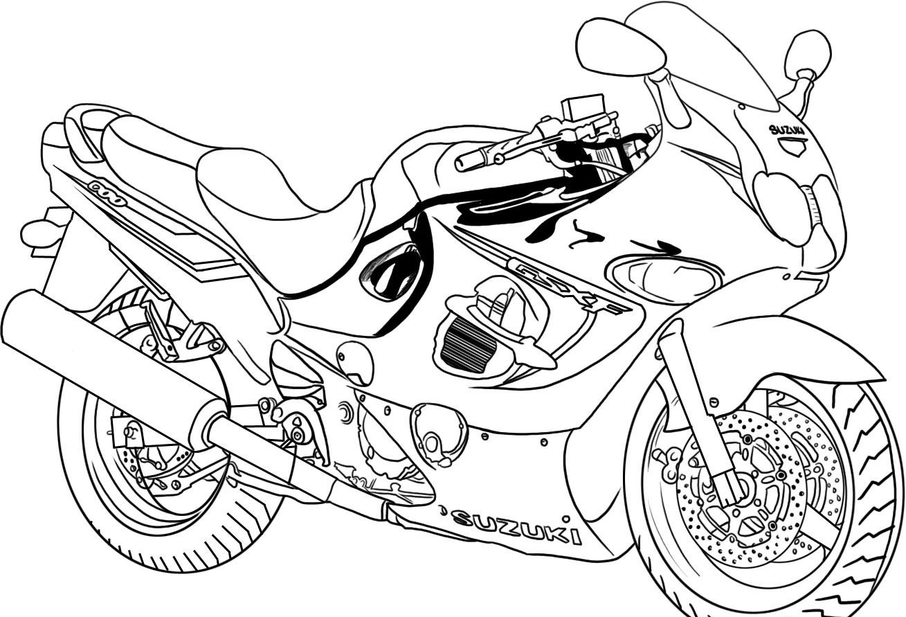 motorbike colouring printables free motorcycle coloring pages baps motorbike colouring