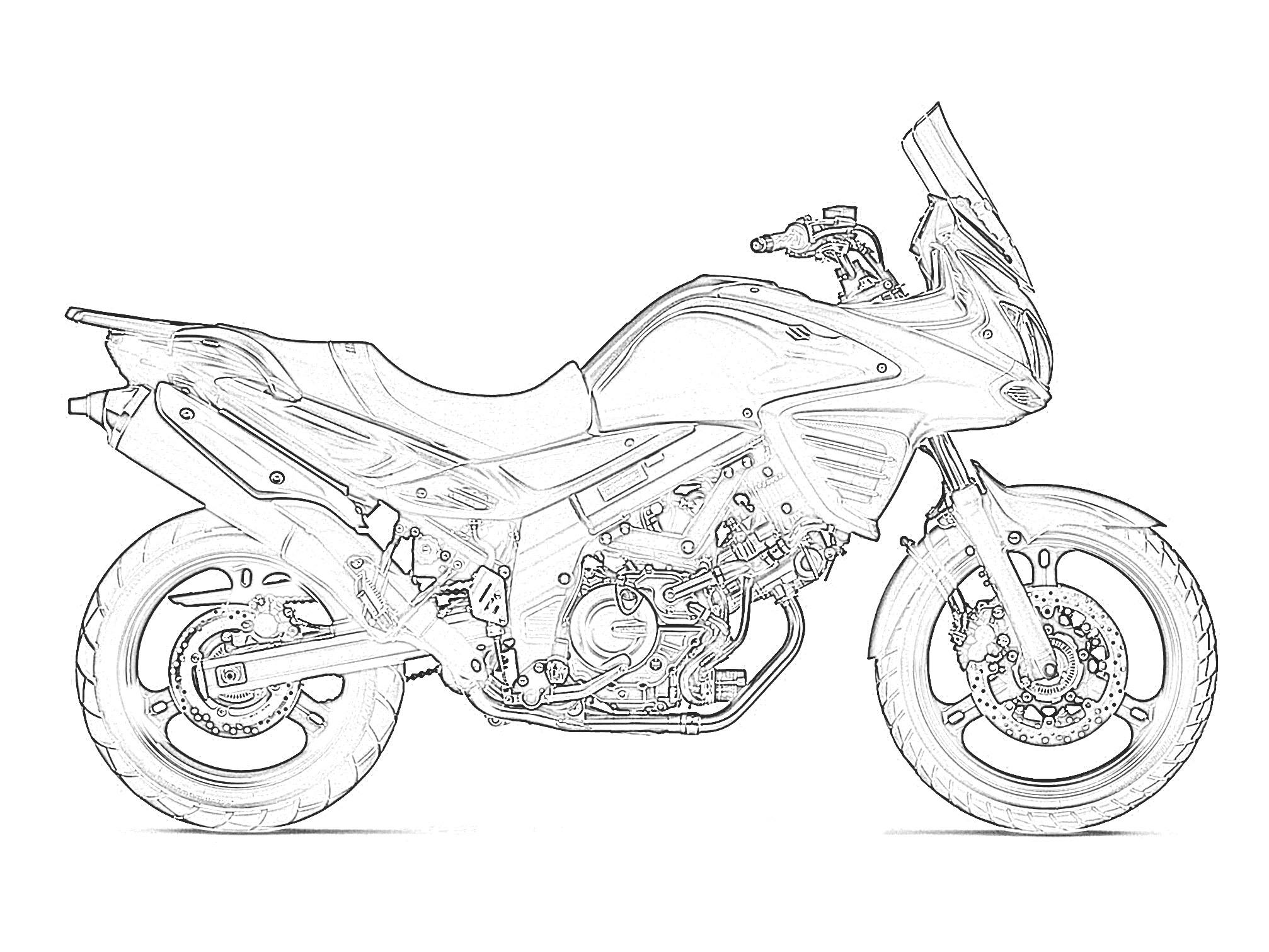 motorbike colouring printables free motorcycle coloring pages baps motorbike colouring 1 2