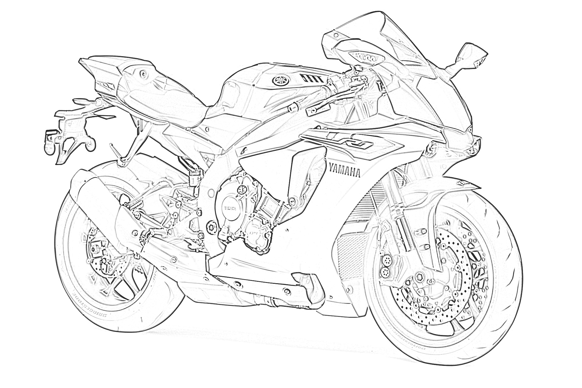 motorbike colouring printables free motorcycle coloring pages baps motorbike colouring 1 4