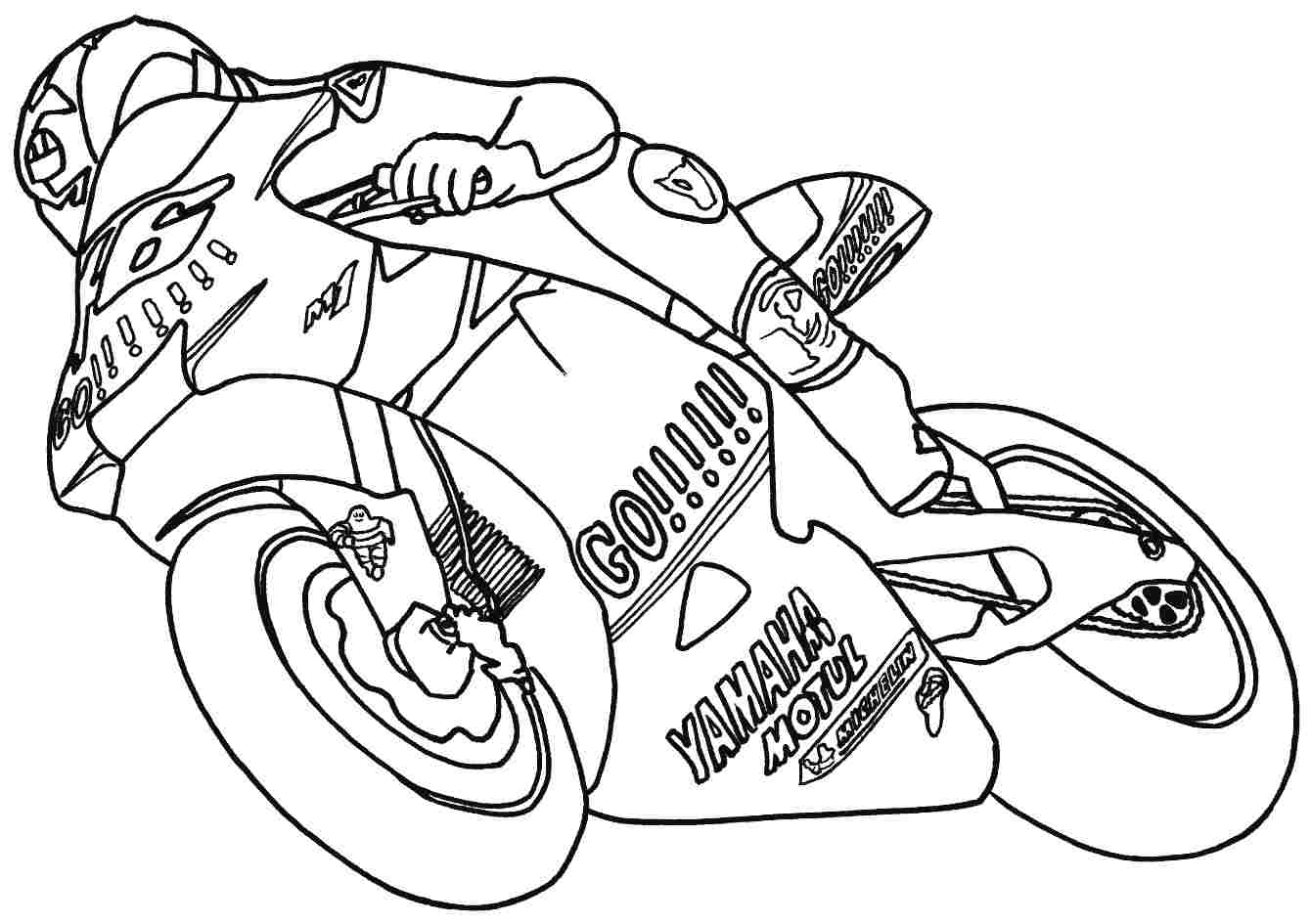 motorcycle color pages racing motorcycle coloring page free printable coloring pages color motorcycle