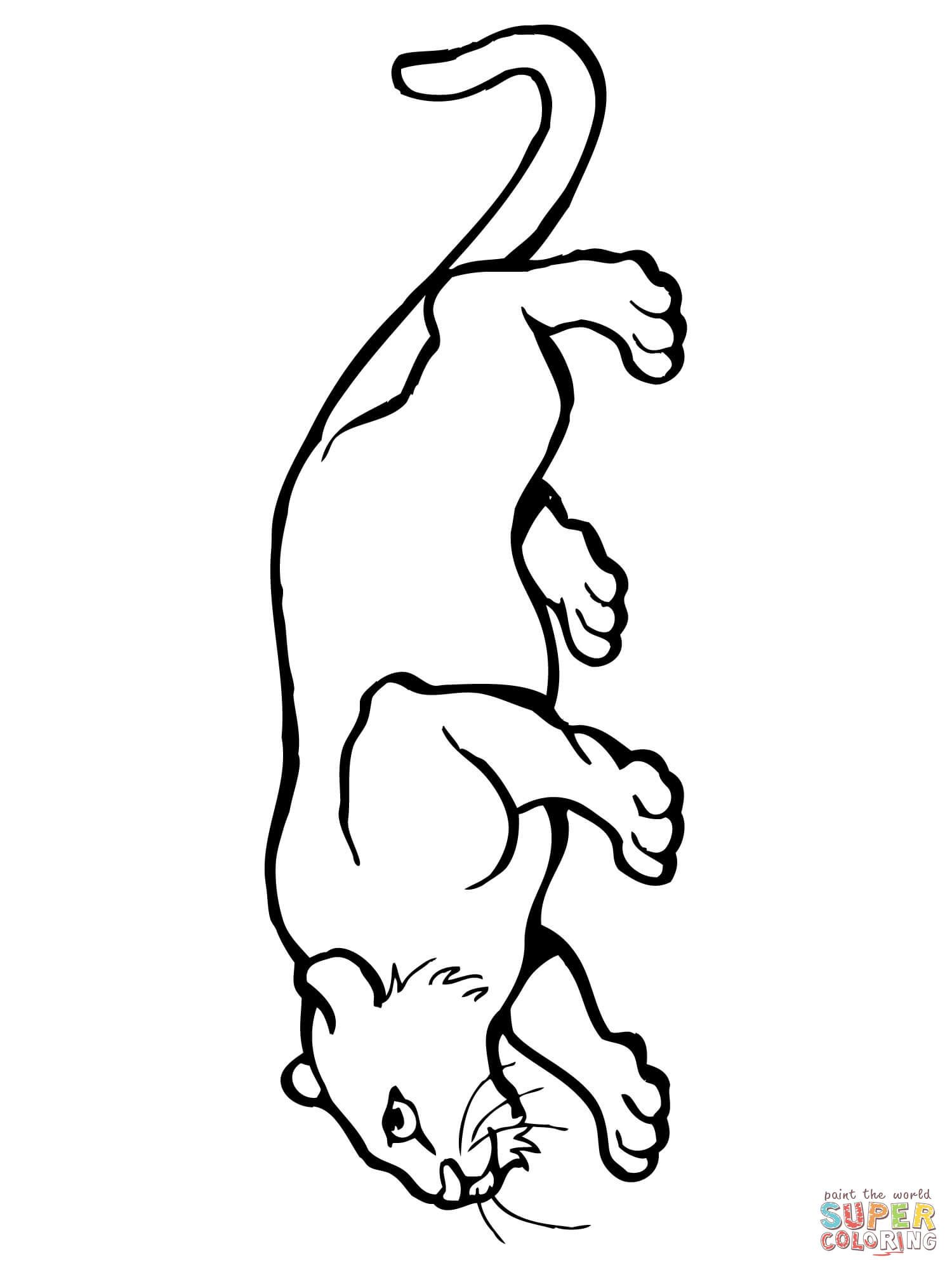 mountain lion coloring pages mountain lion coloring page coloring pages for kids and lion mountain coloring pages